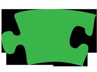 green-jigsaw